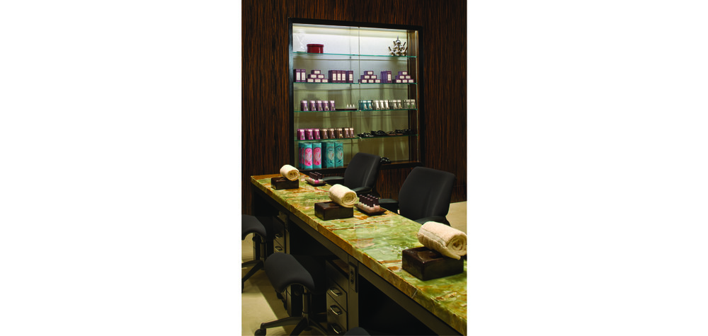 V spa Manicure Room