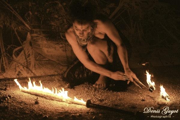 Spectacle de feu, Mystica Salvaje