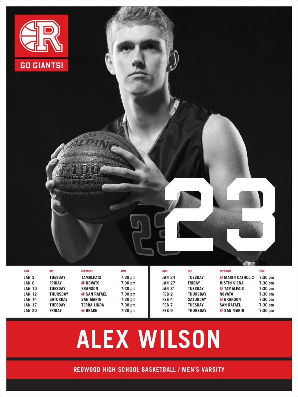 Redwood High School Basketball / Varsity Teams