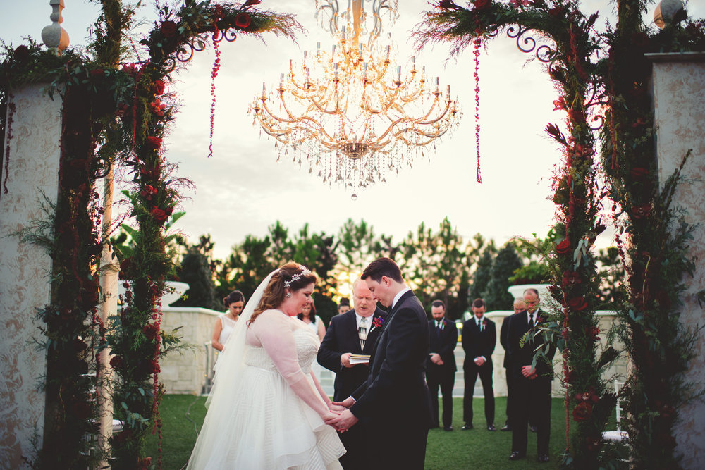 Wedding Photographer: Jason Mize Photography | Wedding Ceremony: Hilton Orlando | Wedding Planner: An Affair To Remember
