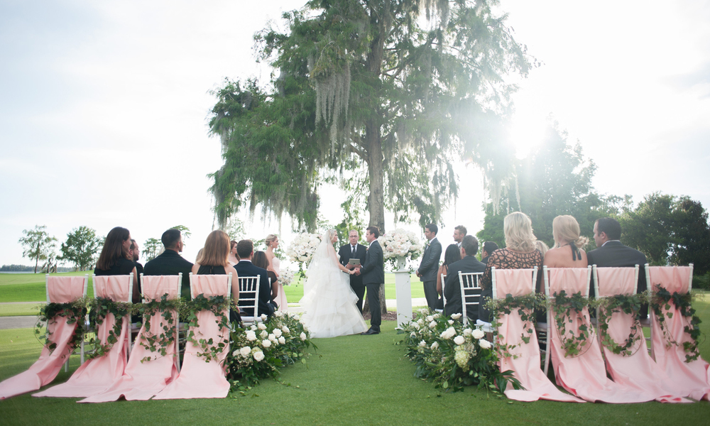 Wedding Photographer: Kathy Thomas Photography | Wedding Ceremony: Lake Nona | Wedding Planner: The Busy Bee