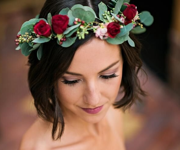 Photo Credit Kristen Weaver Photography While we're at it, let us design a floral crown for you.