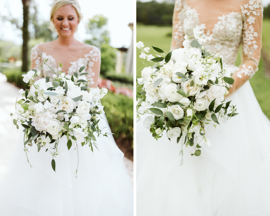 Wedding Photographer: Nate Puhr | Luxury Wedding Designer:  Tres Chic Weddings | Wedding Location: Four Seasons Resort Orlando at Walt Disney
