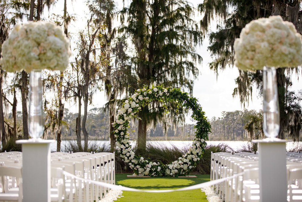 Wedding Photographer: Victoria Angela Photography | Wedding Coordinator: Plan It Event Design and Management | Wedding Location: Isleworth Golf & Country Club