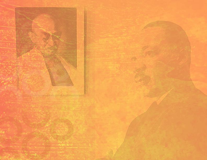 MLK  Mahatma Gandhi.png