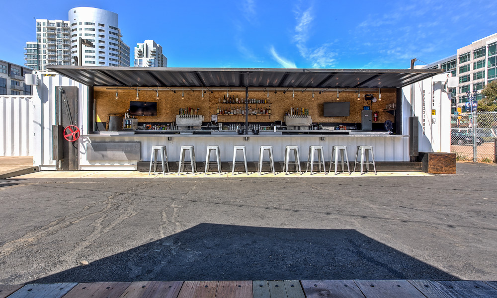 Quartyard - Container Bar - San Diego California