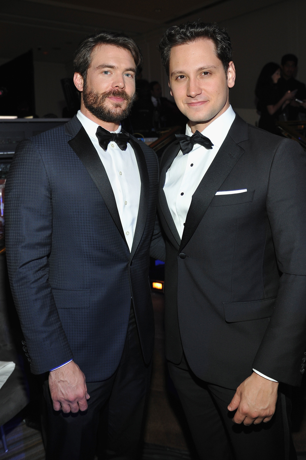 Charlie Weber and Matt McGorry at the 2016 UNICEF Ball