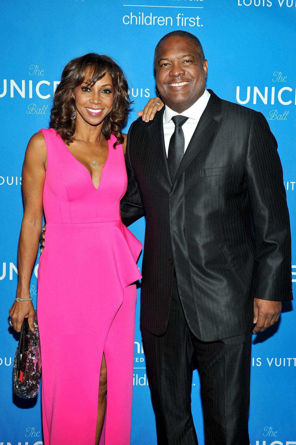 Holly Robinson Peete and Rodney Peete attend the 2016 UNICEF Ball
