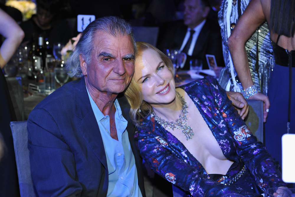 Patrick Demarchelier and Nicole Kidman attend the 2016 UNICEF Ball