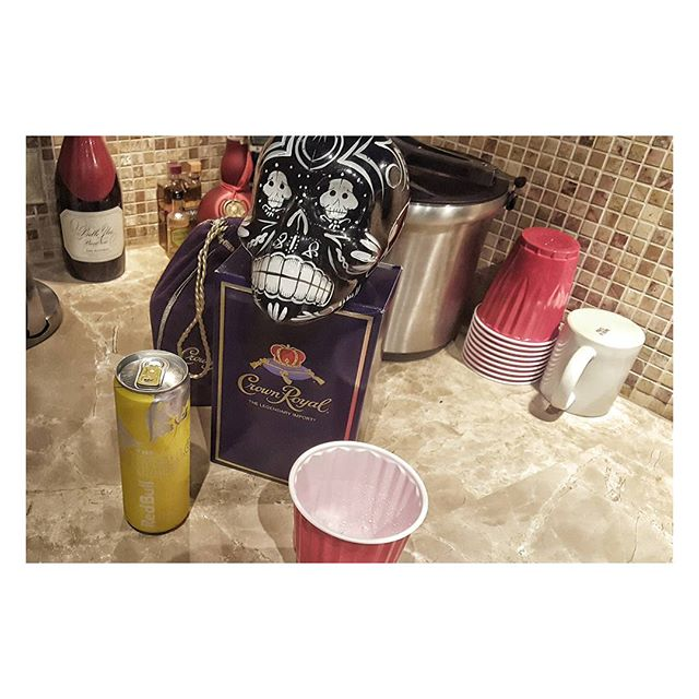 #ChangeIsGood #CrownRoyal And Yellow #RedBull  #LetsWork Now!!