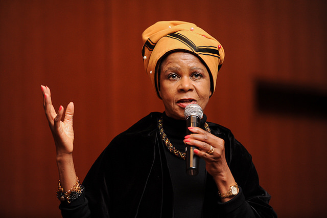 Mamphela Ramphele. Photo: Barnard College/Asiya