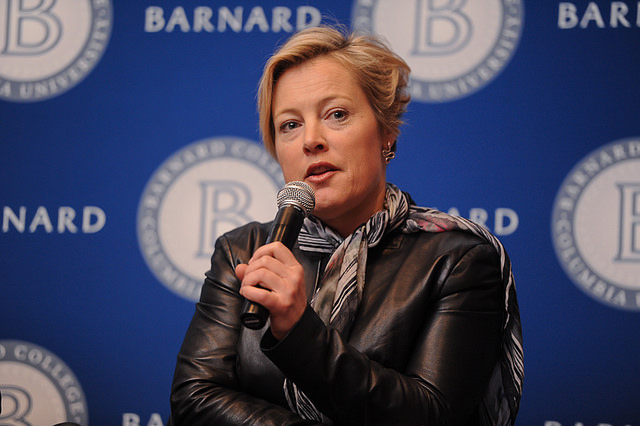 Gillian Tett. Photo: Barnard College/Asiya