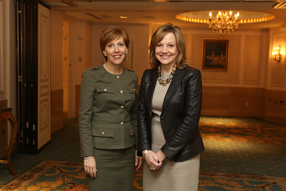 Catalyst CEO Deborah Gillis & GM's Mary Barra