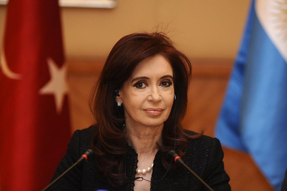 Former Argentine President Cristina Fernandez de Kirchner