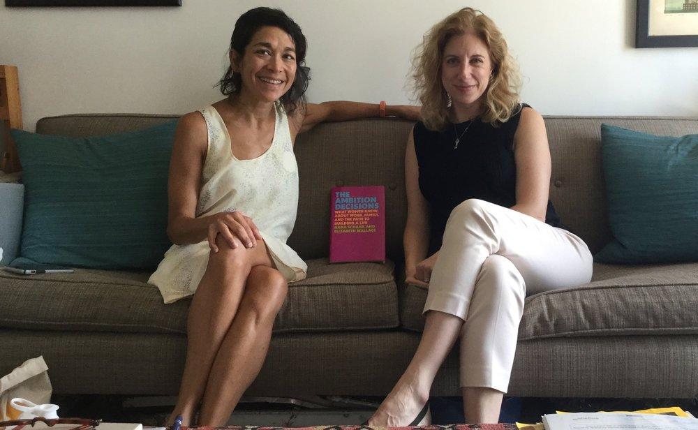Elizabeth Wallace and Hana Schank