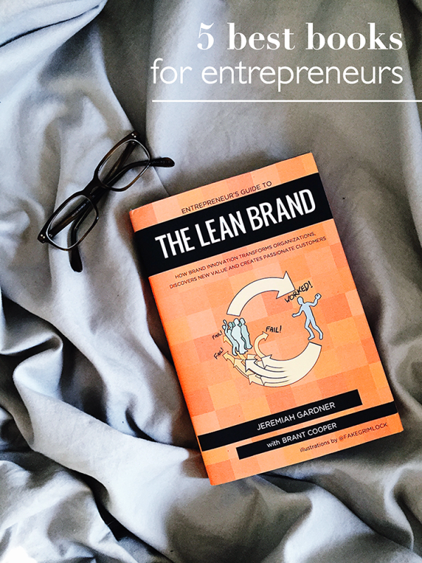 The Five Best Books for Entrepreneurs by @social_studio