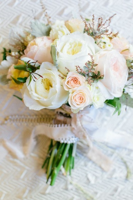 Beautiful rose bouquet by Amy Cason of @victoriangardens via @social_studio