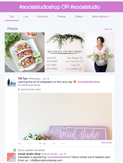 Searching #hashtags with Twitter Advanced Search via @social_studio #socialstudioshop