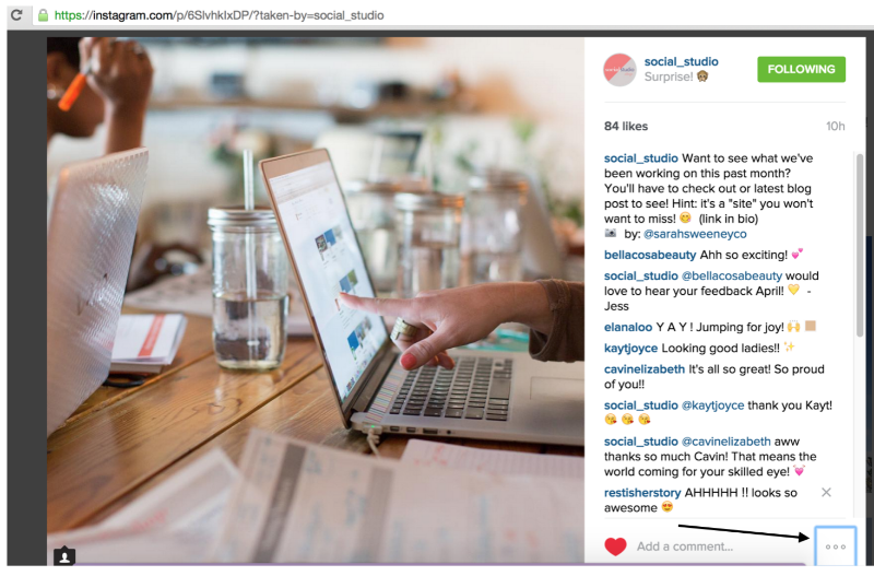 How To Embed Instagram Posts To Your Blog with Squarespace via @social_studio