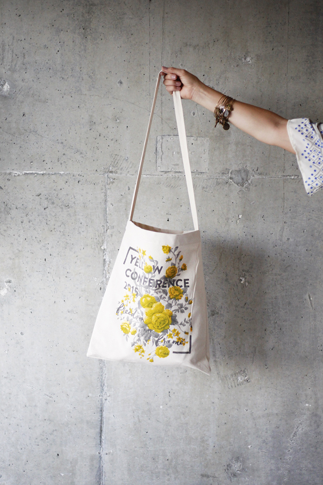 Tote bag by Vardagen | Three Things I Learned at Yellow Conference by @jessicaehowell via @social_studio
