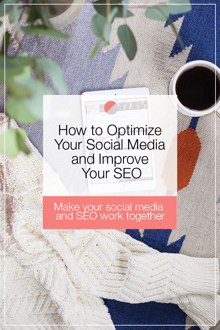 How to Optimize Your Social Media and Improve Your SEO. Three things you can do today to increase your search engine optimization using social media.