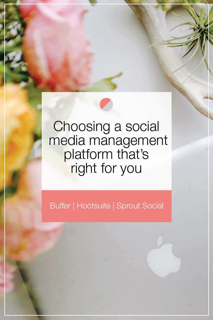 Looking for better ways to manage your social media accounts? You may want to consider one of these platforms! Buffer, Hootsuite, and Sprout Social. A breakdown of their pricing and features. Pin now and check back for these helpful social media tools.