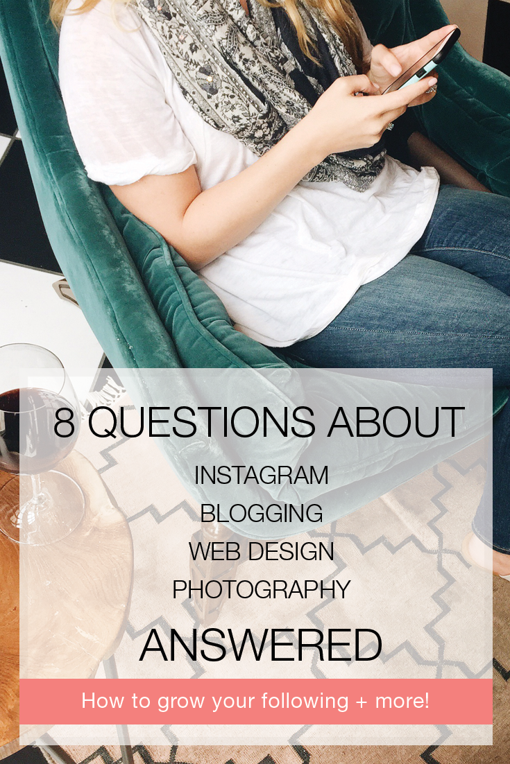 We hosted a Q/A on Instagram. Here are the questions we were asked and the answer we gave including tips for Instagram ads, tips for bloggers on how to get brand sponsorship and collaborations, three quick Twitter tips to grow your following, how to grow your Instagram following, how to brand yourself on Instagram, websites we suggest for blogging, and more! Pin now, read later!