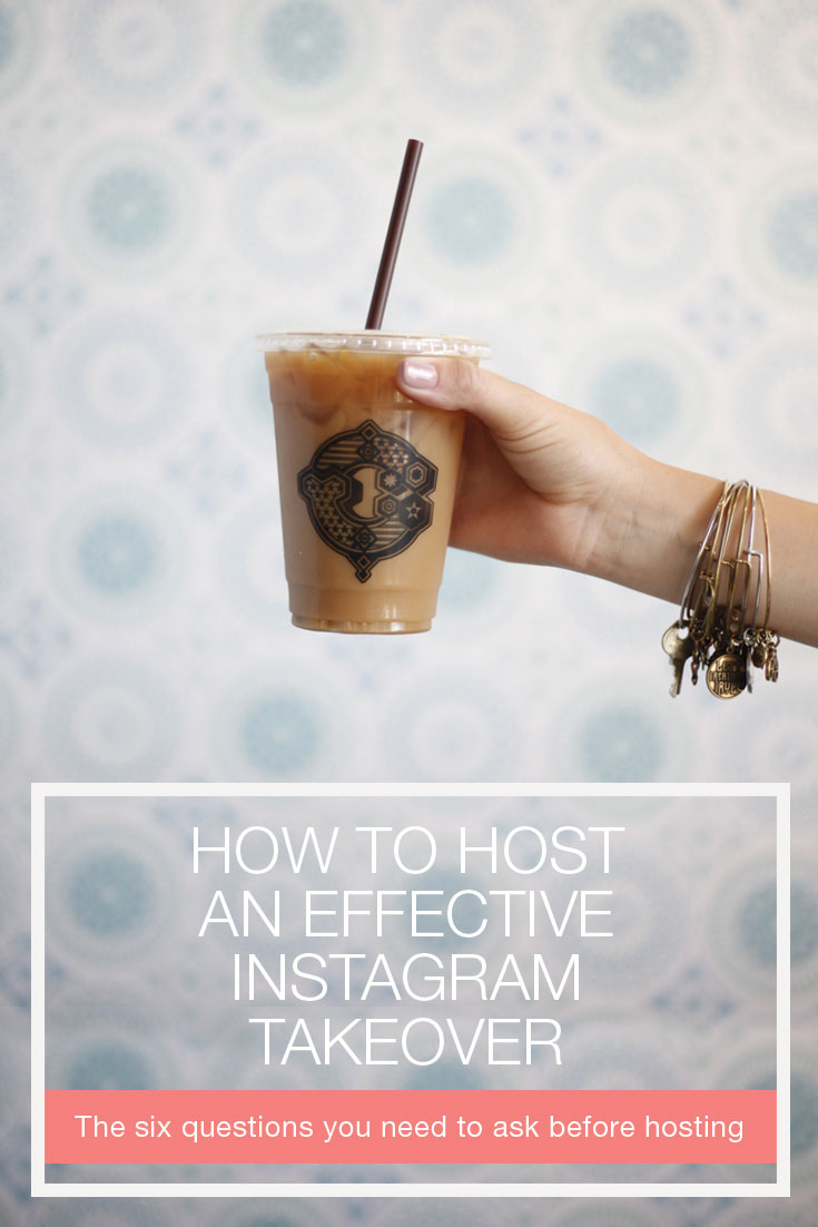Interested in hosting an Instagram takeover? Stop right there! Ask yourself these six questions before handing over the reigns to bloggers, or anyone else. Click through to learn these helpful Instagram tips!