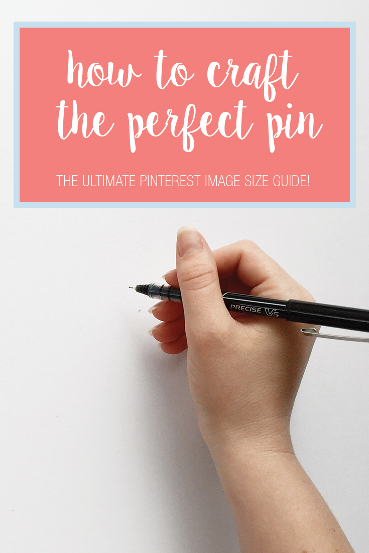 Curious what elements go into to making the perfect Pin for your Pinterest board? Or maybe you're looking for a way to drive more traffic from Pinterest to your site. Click to read this blog post on How to Craft the Perfect Pin, complete with an optimal Pinterest images size guide.