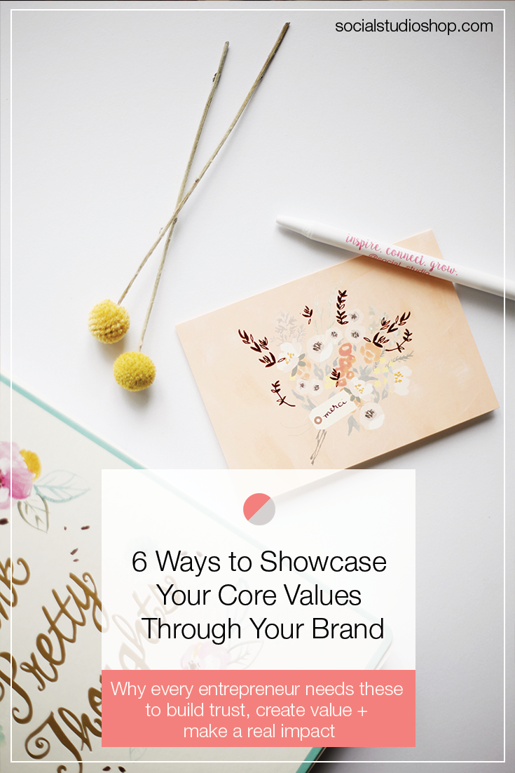 You have your core values, but are you showcasing them through your brand? Every entrepreneur needs these to build trust, create value and make a real impact.