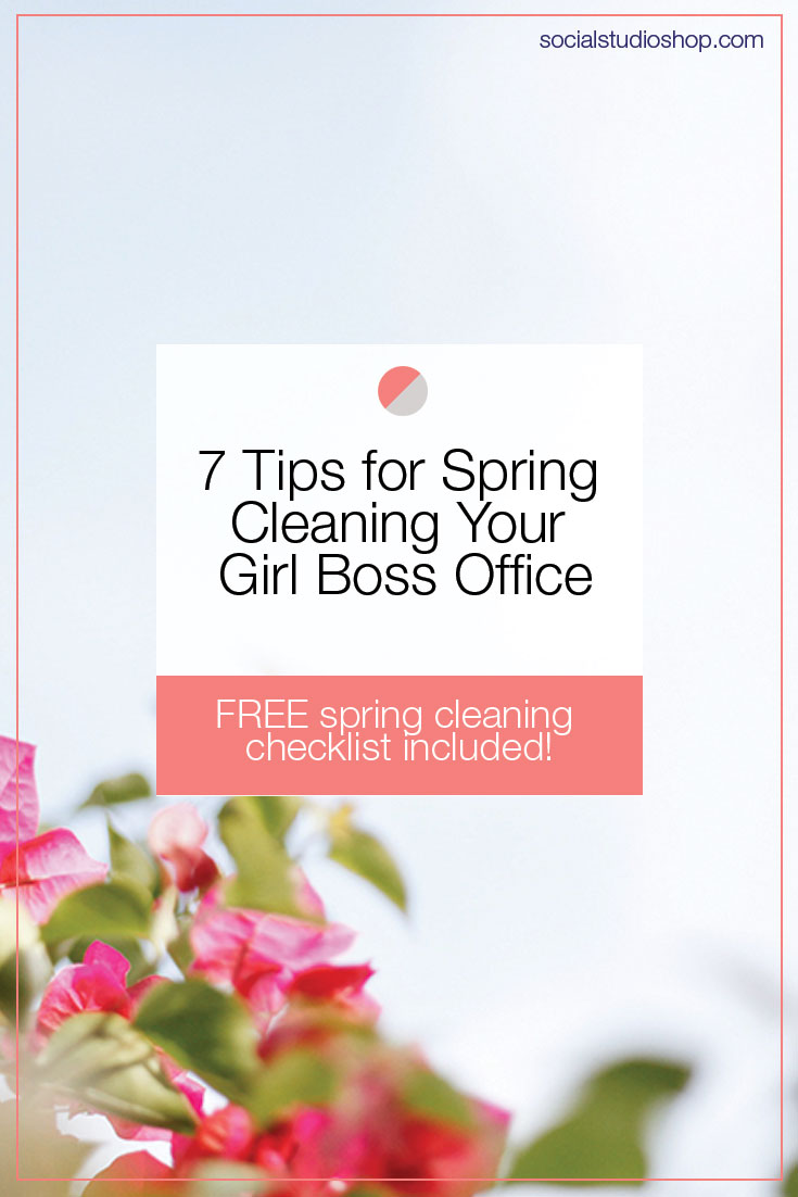 Spring is here and it's time to get organized! Your office or workspace is the hub of your business so it's no exception to Spring cleaning! See our handy checklist and make sure your space is organized, clean and set up for success.