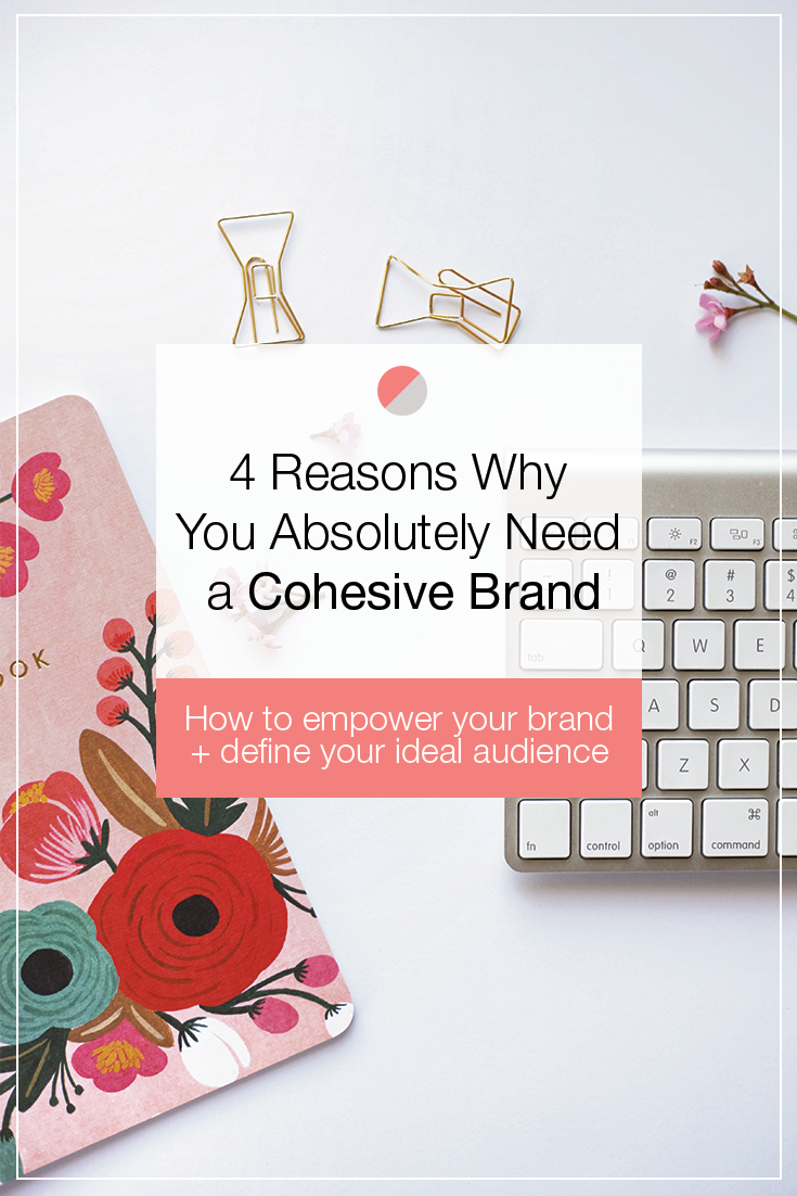 Your brand is the foundation of your business. Click through to read why having a cohesive brand is so important to your success as a brand or blog.