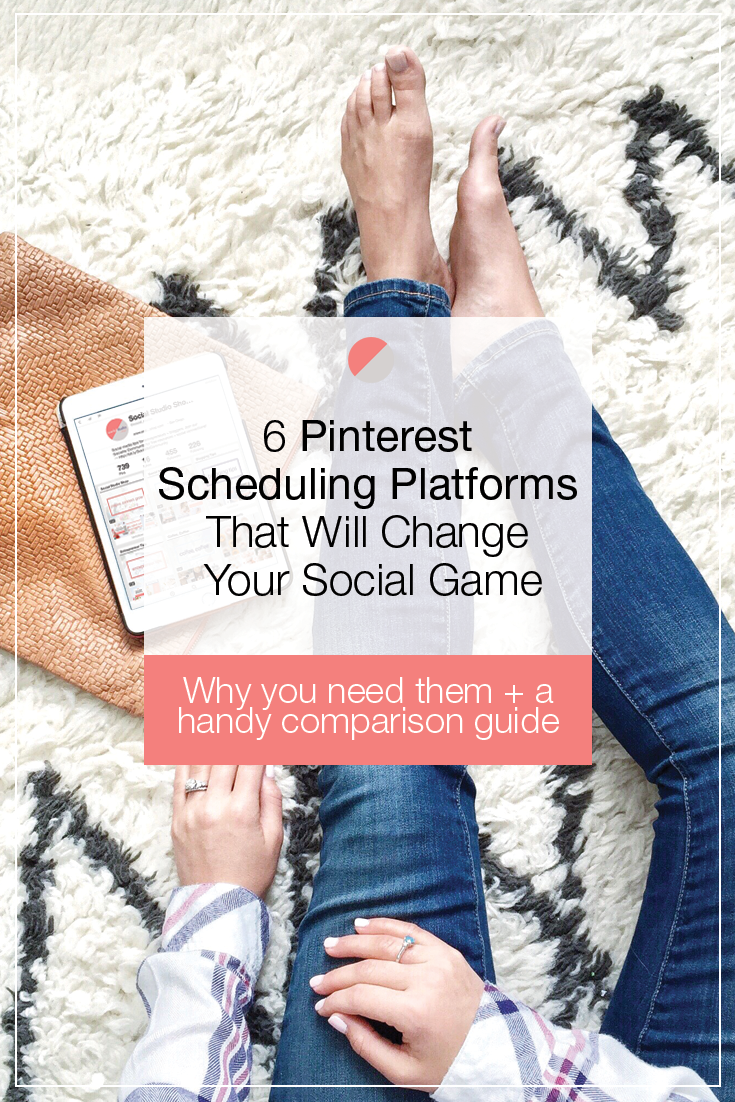 Six Pinterest scheduling platforms that will change your social game! Click through to learn more and see our helpful comparison guide.