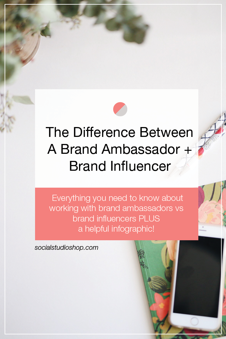 Have you ever wondered what the difference between a brand ambassador and a brand advocate is? Who is getting paid to influence on social media and who is working just for the love of the product? Check out this handy infographic to see all the differences between a brand ambassador and brand advocate!
