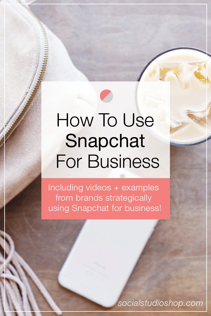 Snapchat is used for so much more than just sending face-swaps to your friends. More and more businesses are jumping on the bandwagon to use Snapchat for their business. If you are interested in learning about how to use Snapchat as a marketing tool for your business, read on!