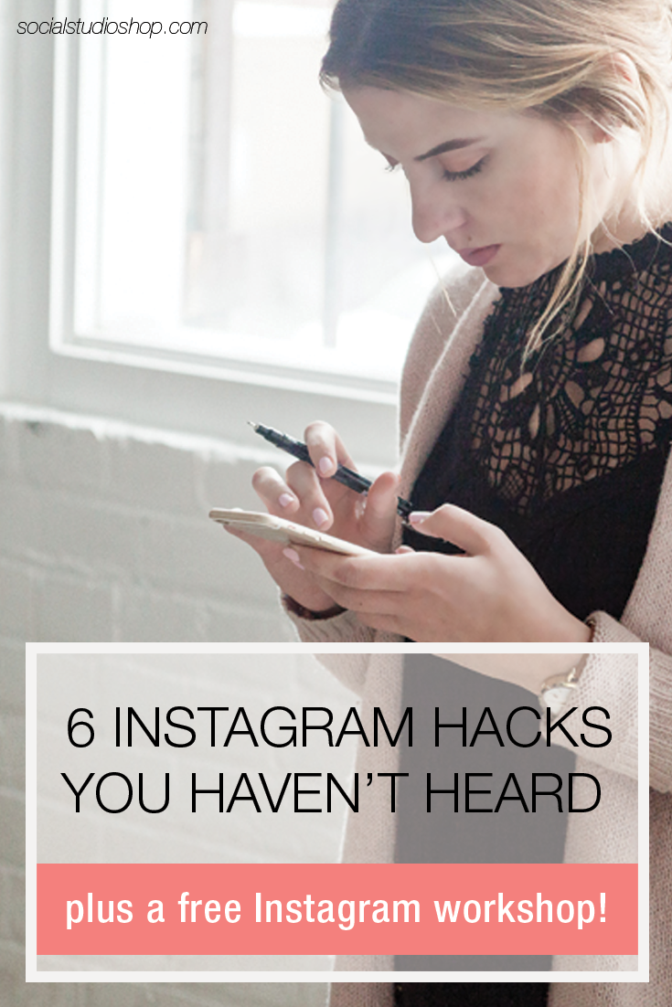 Think you know everything there is to know about Instagram? We're sharing 6 Instagram tips and hacks you may not know in this blog post. Plus sign up for our free online Instagram workshop to learn how the Instagram algorithm is affecting you and your brand