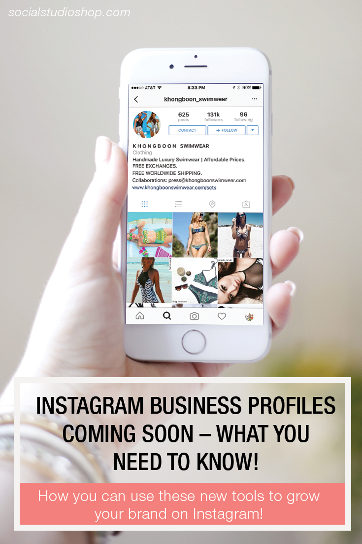 Did you know Instagram is releasing business pages soon? Click to read through to see how you can use this brand new tool to grow your brand on Instagram!