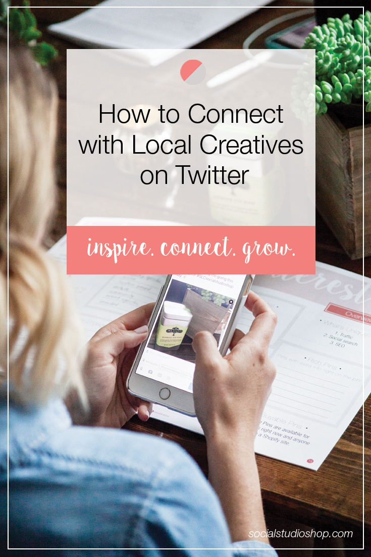 Twitter is a wonderful platform for connecting with creatives in your field. If you're looking for a way to connect socially in 140 characters, click through to see our tips on finding local creatives in your area!