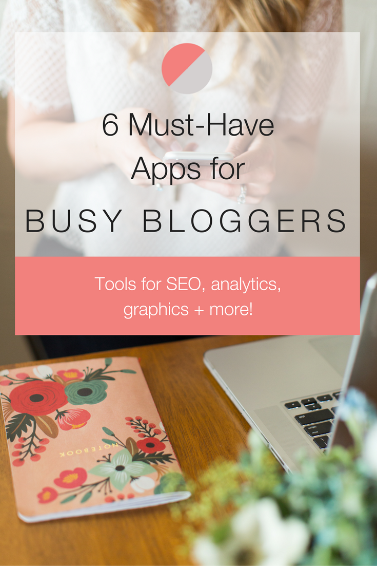 If you're constantly running around like I am, you may start to neglect your creative outlets such as your blog. Instead of abandoning your passions, find a way to make it work for you! See which apps + tools we recommend for the busy blogger on-the-go!