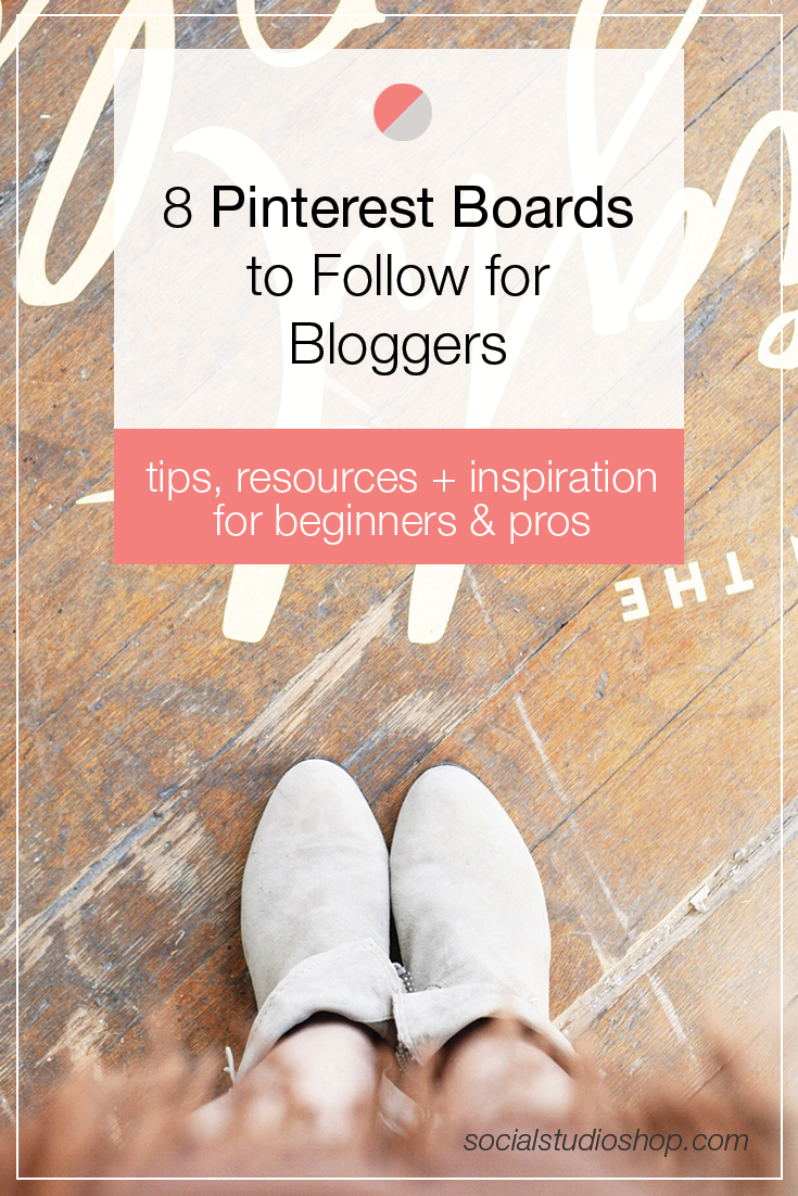 Pinterest is such a valuable resource for bloggers to learn + improve their blogging skills. Instead of spending your time searching for articles, let them come to you! Here are 8 Pinterest boards every blogger should follow to boost their skills + find new connections.