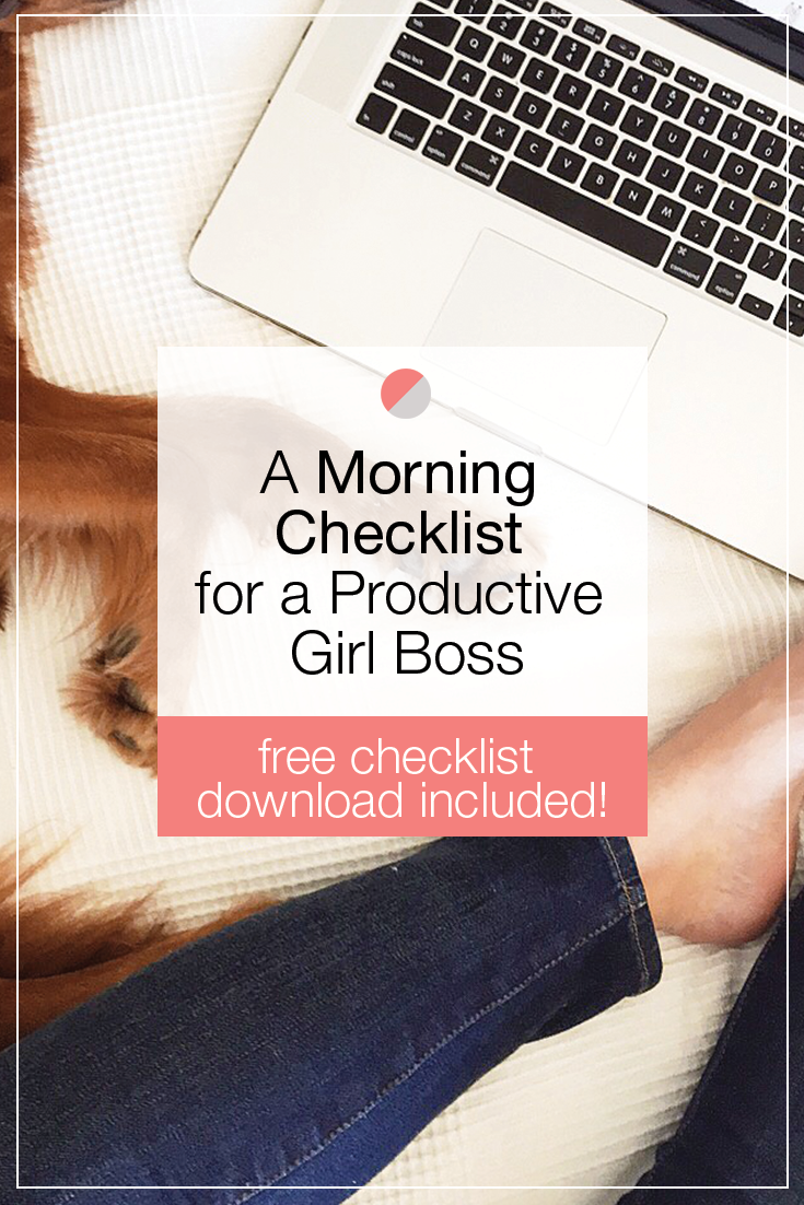 Don't start your day off on the wrong foot, boss babe! Create a sustainable morning routine that sets you up for success each time. If you need some tips, we've included a handy checklist that will make sure you're doing everything you need in the morning to have the best day ever!