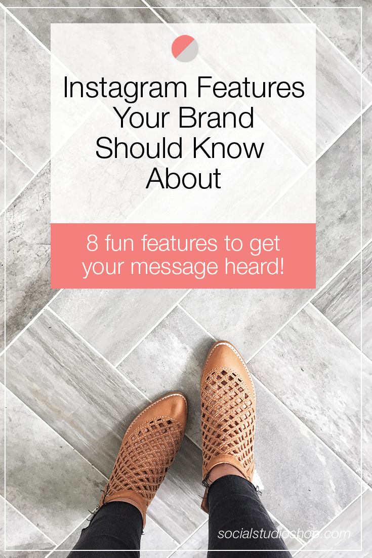 Instagram has been rolling out all kinds of new features lately. Are you utilizing them the best way possible for your brand? Click through to see our new favorite Instagram features and how you can use them strategically to grow your business!