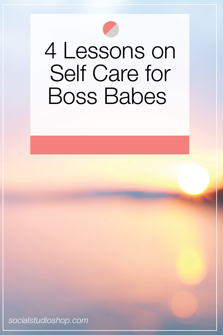 Boss babe, you need to take care of yourself. We know that being a creative entrepreneur often means running yourself ragged, but that won't help you or your business. Check out these tips from licensed Master Social Worker, Jessica Novello + put your self care first!
