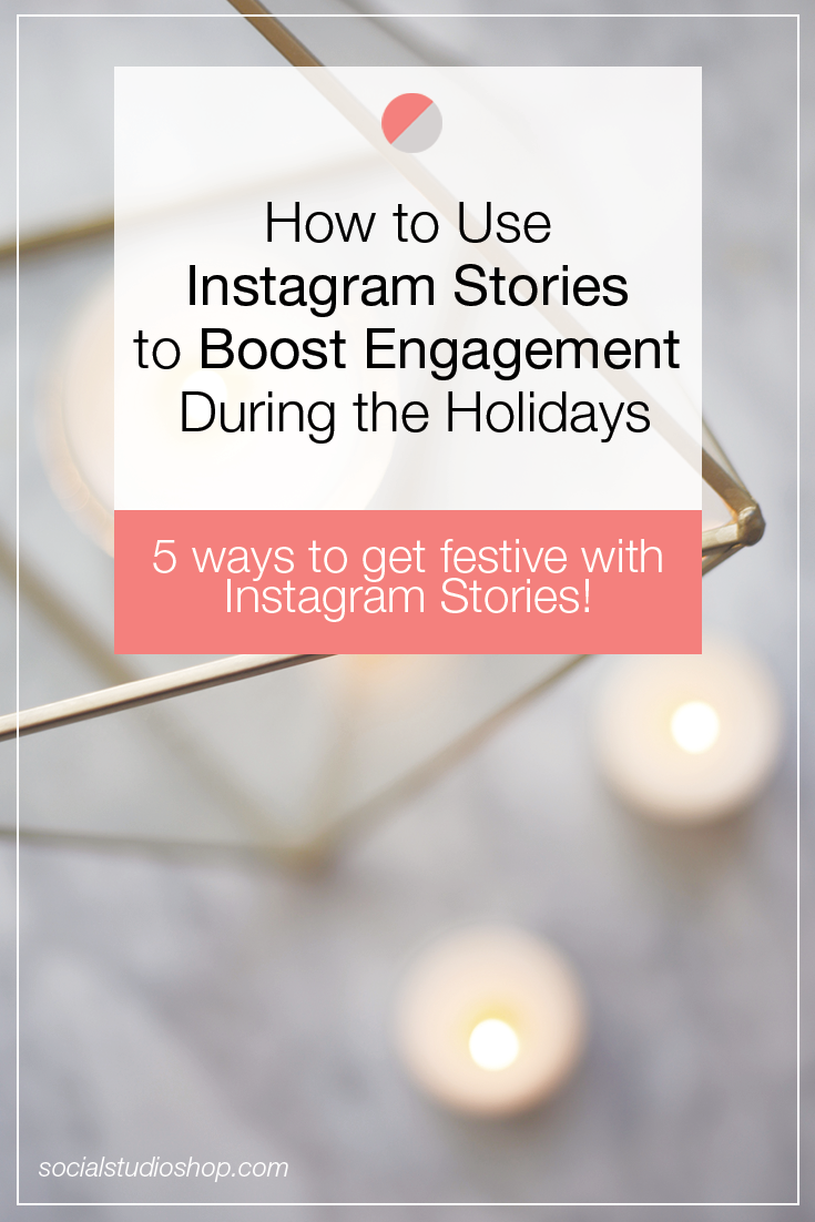 Instagram Stories are a great tool for reaching your audience + boosting engagement during the Holiday season. Click through to read how you can utilize its features to engage + boost sales!
