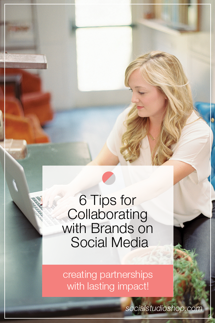 If you're thinking about collaborating with other brands on social media, yay! It's a great way to build partnerships + creating lasting friendships. But before you launch that collaboration, make sure you check out our 6 tips for making it a success!