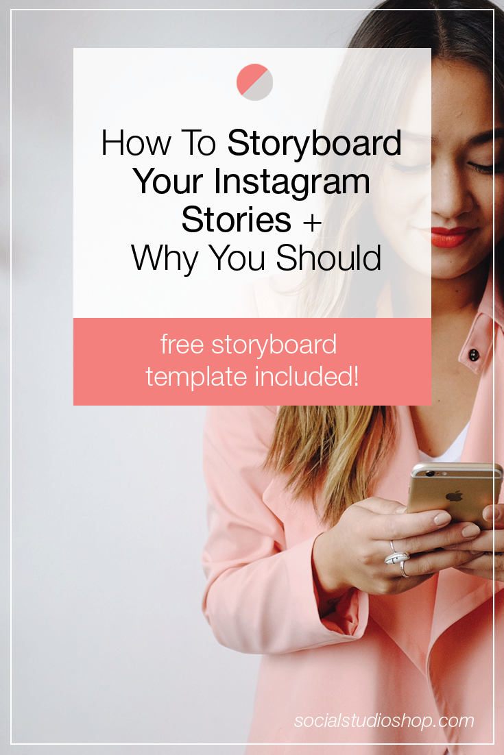 Instagram Stories are here to stay + are a great way to engage with your audience. But without a little strategy they can come across as sloppy + uninspired. Click to see our tips on how to use a storyboard to create the best Instagram story for your brand + download our free storyboard template!