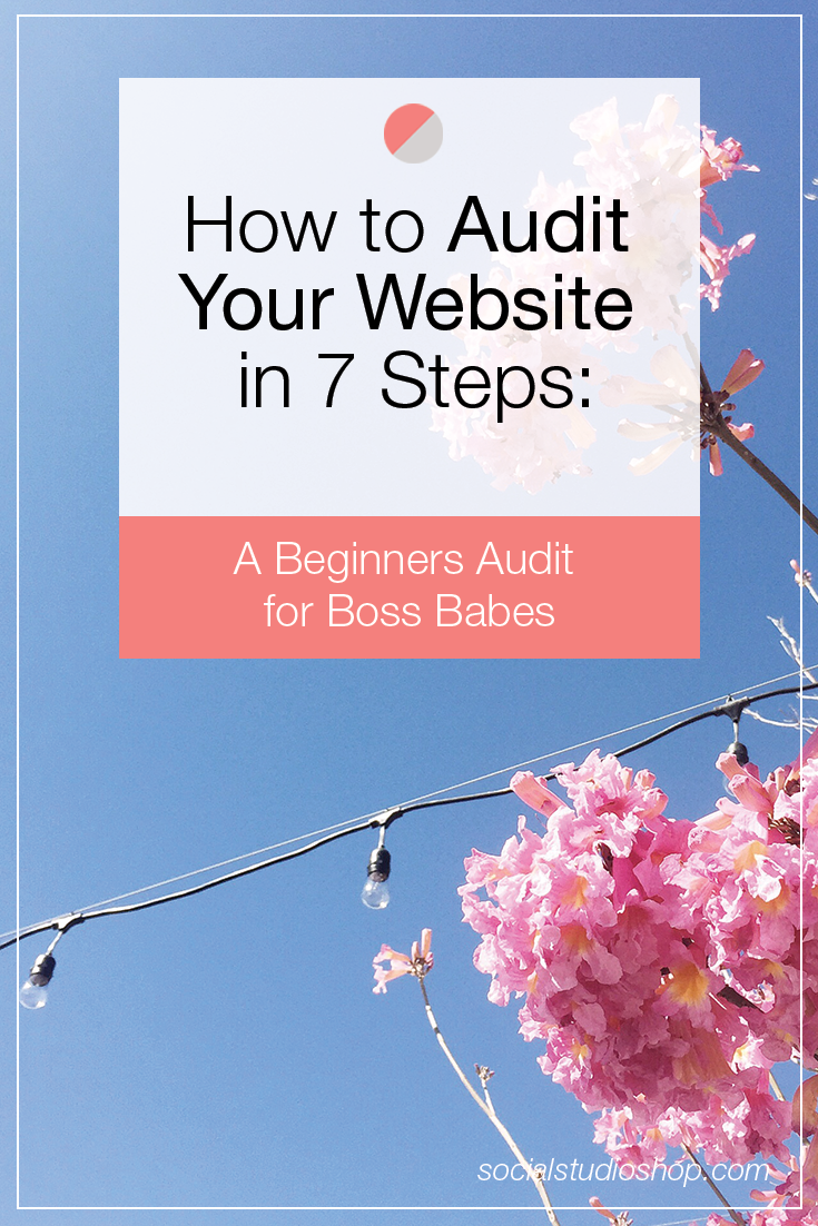 Is your website or blog attracting your Dreamies or is your SEO stalling the process? We've create a super simple step-by-step guide for auditing your website's SEO, even if you are a beginner! Click here to read our tips on website SEO audits + attract those dreamies to your site!