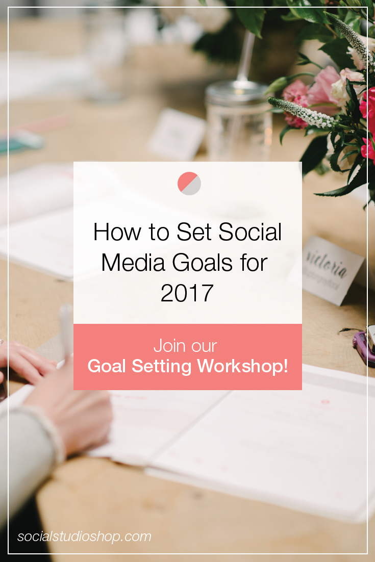 The new year is here and the time has come to set some serious boss babe goals for your business, starting with your social media! If you use social media to market your brand, it's time to stop shooting in the dark + get serious about your progress and results! Click through to read our tips on setting social media goals for the new year and see some real traction in your business!