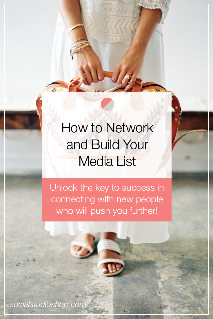 If you're a boss babe looking to grow her business, but not sure where to start in the networking community, check out these great tips PR expert, Amanda Cowan of A. FAYE PR. Learn how to connect and grow your media list and make new contacts!
