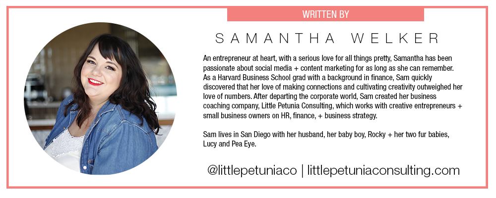 Samantha Welker Little Petunia Consulting